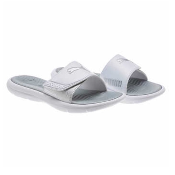 76e40de8635 New Women s Puma Slides Sandals Size 8